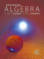 Beginning Algebra 8th edition 9781111578701 1111578702