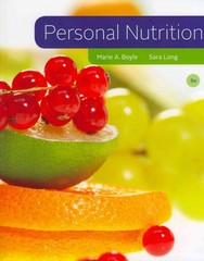 Personal Nutrition 8th Edition 9781111571139 1111571139