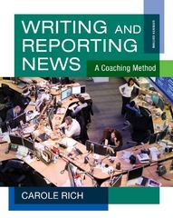 Writing and Reporting News 7th Edition 9781111344443 1111344442