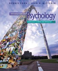 Introduction to Psychology 13th edition 9781111833633 111183363X
