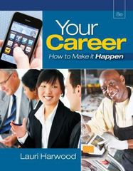Your Career 8th Edition 9781133707622 1133707629