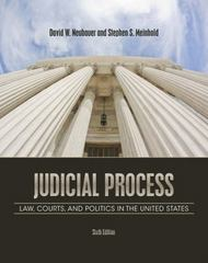 Judicial Process 6th edition 9781111357566 1111357560