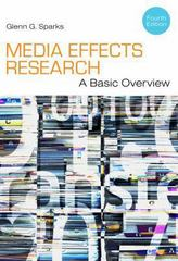 Media Effects Research 4th Edition 9781111344450 1111344450