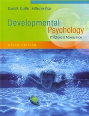 Developmental Psychology 9th Edition 9781111834524 1111834520
