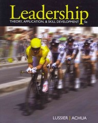 Leadership 5th edition 9781111827076 1111827079