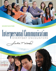 Interpersonal Communication 7th edition 9781133711575 113371157X