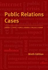 Public Relations Cases 9th Edition 9781133712916 1133712916