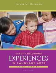 Early Childhood Experiences in Language Arts 10th Edition 9781133710714 1133710719