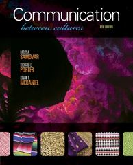 Communication Between Cultures 8th edition 9781111349103 111134910X