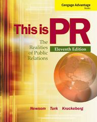 Cengage Advantage Books: This is PR 11th Edition 9781133710073 1133710077