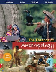 The Essence of Anthropology 3rd edition 9781111833442 1111833443