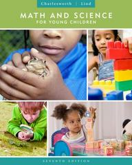 Math and Science for Young Children 7th edition 9781111833398 1111833397