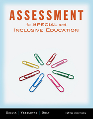 Assessment 12th edition 9781111833411 1111833419