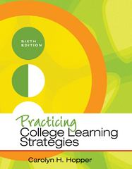 Practicing College Learning Strategies 6th edition 9781111833350 1111833354