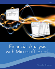 Financial Analysis with Microsoft Excel 6th Edition 9781111826246 1111826242