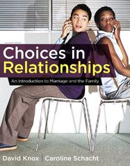 Choices in Relationships 11th edition 9781111833220 1111833222