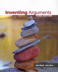 Inventing Arguments 3rd edition 9780840027757 0840027753