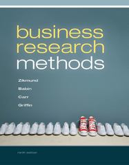 Business Research Methods 9th edition 9781285401188 1285401182
