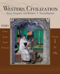 Western Civilization 10th edition 9781111831707 111183170X