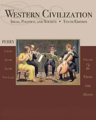 Western Civilization 10th edition 9781111831714 1111831718