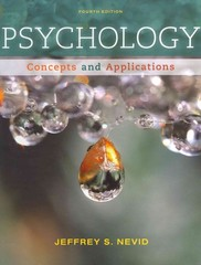 Psychology 4th edition 9781133712886 1133712886