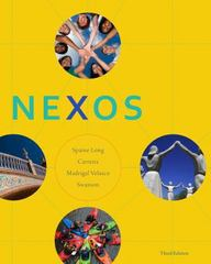 Nexos 3rd Edition 9781111833244 1111833249