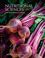 Nutritional Sciences 3rd Edition 9780840058201 0840058209