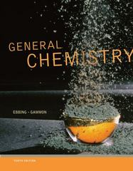 Study Guide for Ebbing/Gammon's General Chemistry 10th edition 9781111989408 1111989400