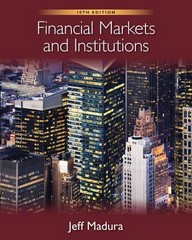 Financial Markets and Institutions 10th edition 9781133711063 1133711065