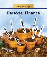Personal Finance 11th edition 9781111531010 1111531013