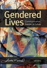 Gendered Lives 10th edition 9781111346485 1111346488