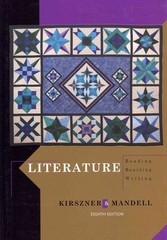 Literature 8th Edition 9781111344801 1111344809