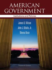 American Government 13th edition 9781111830014 1111830010
