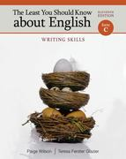 The Least You Should Know about English 11th Edition 9781285624808 1285624807