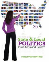 State and Local Politics 3rd edition 9781111833107 1111833109