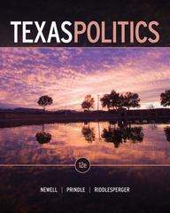 Texas Politics 12th edition 9781111833060 1111833060