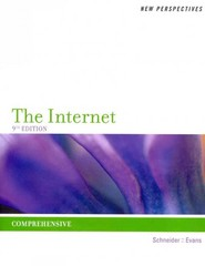 New Perspectives on the Internet 9th edition 9781133712329 1133712320