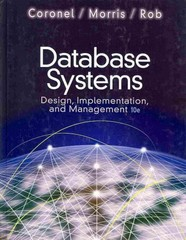 Database Systems 10th Edition 9781111969592 1111969590