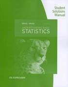 Student Solutions Manual for Brase/Brase's Understanding Basic Statistics 6th edition 9781111990107 1111990107