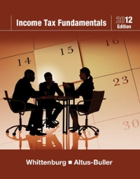 "Income Tax Fundamentals 2012 (with H&R BLOCK At Homeâ""¢ Tax Preparation Software CD-ROM) 30th edition 9781111529192 1111529191"
