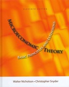 Microeconomics Theory (Book Only) 11th Edition 9781111222901 1111222908
