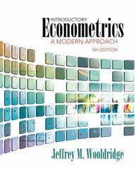 Introductory Econometrics 5th Edition 9781285414645 1285414640