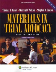 Materials in Trial Advocacy 7th edition 9780735510449 073551044X