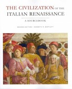 Civilization of the Italian Renaissance 2nd Edition 9781442604858 1442604859