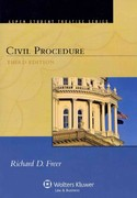 Civil Procedure 3rd Edition 9781454802228 1454802227