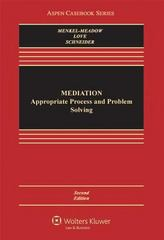 Mediation 2nd Edition 9781454802624 1454802626