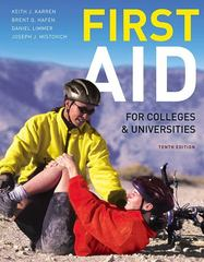 First Aid for Colleges and Universities 10th Edition 9780321732590 0321732596