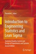Introduction to Engineering Statistics and Lean Sigma 2nd edition 9781848829992 184882999X