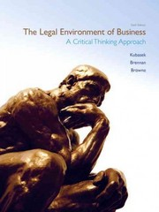 The Legal Environment of Business 6th edition 9780132997461 0132997460