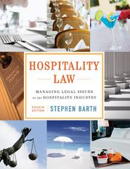 Hospitality Law 4th Edition 9781118085639 1118085639